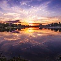 Сиреневый закат :: Александр Варшавский