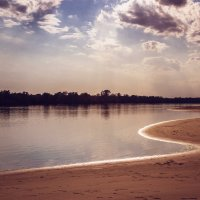 Река Дон. Вечер, начало сентября. :: Igor Komarov
