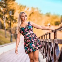Осень Полины или Полина Осень ) :: Рома Фабров