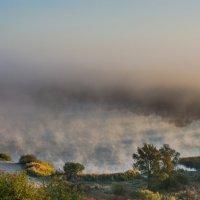 Туман над водой. :: Вадим Нечаев
