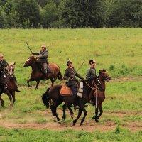 Неприятельская кавалерия :: Андрей Николаевич Незнанов