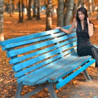 Осенний парк :: Женя Рыжов