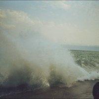 Январский шторм в Ялте :: Нина Корешкова