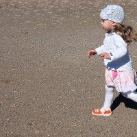бегаем с дочкой :: Мансур Хаснутдинов
