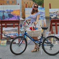 «Леди на велосипеде» :: Анастасия Смирнова