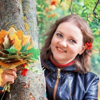 банальный осенний портрет :: Tatsiana Latushko