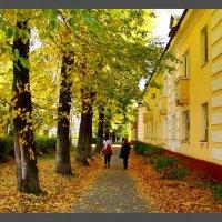 Убегая в осень :: Мария Конькова