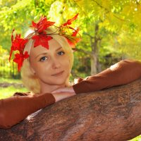 осень :: Евгения Чернова