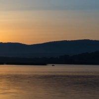 Рассвет на озере Узункуль :: Александр Шамов