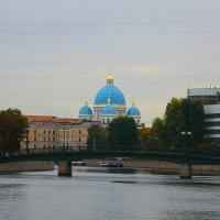 Вид с Фонтанки на Троицкий собор.... :: Tatiana Markova