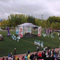 Панорама открытия праздничных торжеств :: Наталья Золотых-Сибирская