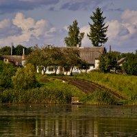 Огород выводит прямо к воде... :: Тарас Грушивский