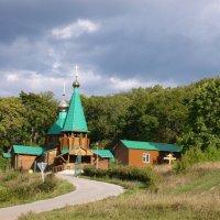 Церковь в Волжском Утесе :: Владимир Фомин