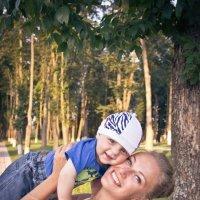С любимой мамой :: Екатерина Хотяшова
