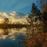 Закатный луч :: vladimir Bormotov