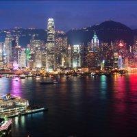 Ночной Гонконг :: Георгий Ланчевский