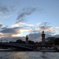 Вечер у моста Александра iii :: Ольга