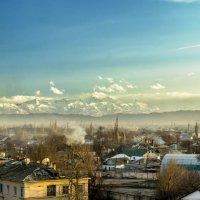 дым над городом (закат) :: Дмитрий Потапкин