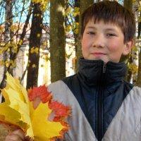Осенний букет для мамы. :: Фотогруппа Весна.