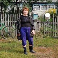 Деревенская Мадонна :: Валентина Пирогова