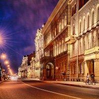 Белая ночь, - вершина. :: Константин Бобинский