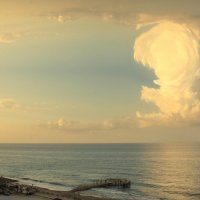 Облака над морем :: Валентина