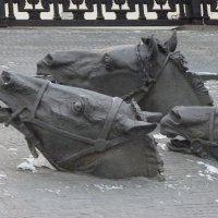 В  Москве, на  Гоголевском бульваре :: Galina Leskova
