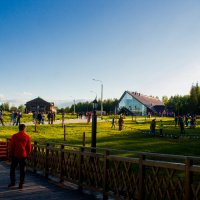 Этнопарк с Моста поцелуев... :: Артём Бояринцев