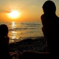 Любование закатом :: Диана С