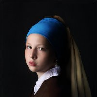 Девушка с жемчужной сережкой :: Виктория Иванова