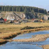 Река Дарья впадает в Чусовую около п.Староуткинск. :: Пётр Сесекин