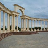 Президентский парк в Кызылорде. :: Аида Хуснутдинова