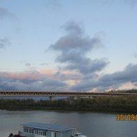 Облака над вечерней Окой.Нижний Новгород :: Алёна М