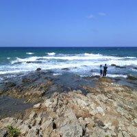 Двое на берегу :: Валентина