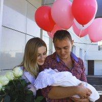 Андрей, Татьяна и их прекрасная дочь Полина :: Ксения Казимирова