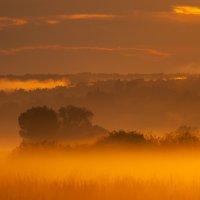 Туманный закат :: Алексей Фишер