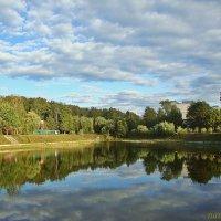 Небесное отражение :: Лидия (naum.lidiya)