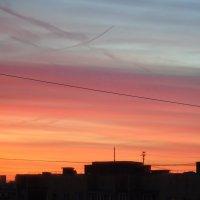 закат в Реутове :: Сергей Гордюшкин