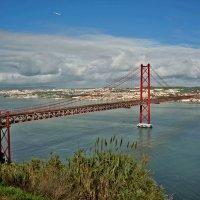 "Лиссабон, мост ""25 апреля"". :: Ольга Маркова"