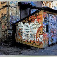 Двор в Апраксином переулке. :: Александр Лейкум