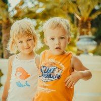 Очаровательные близнецы Маруся и Паша :: Julia Lebedeva (Litvinova)