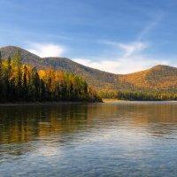 Сибирская Ока в сентябре :: Виктор Никитин