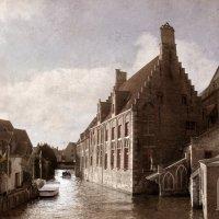 Каналы Брюгге. :: lady-viola2014 -