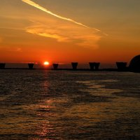 Закат на Финском заливе :: Андрей Вестмит