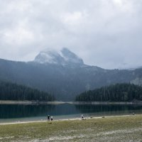 Черное озеро :: Константин Лазуренко