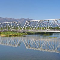 БАМ Мост через Верхнюю Ангару :: val-isaew2010 Валерий Исаев