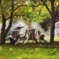 В саду моём гуляла осень.... :: Елена Kазак