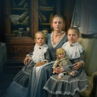 Мама и дочки :: Александр Якименко