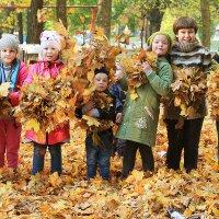 осень...счастье!!! :: Юлия Павличенко