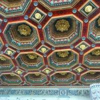 Потолок в столовой Мирского замка . :: Евгений Бондарь